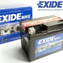 EXIDE YTX4L-BS BATTERY 12V 3Ah