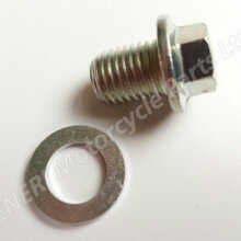 Honda CBF125 09-13 Oil Sump Nut